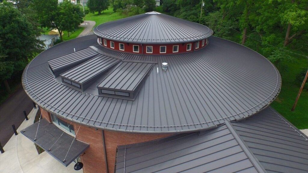 Tapered Panels Metal Roof-Quality Metal Roofing Crew of West Palm Beach